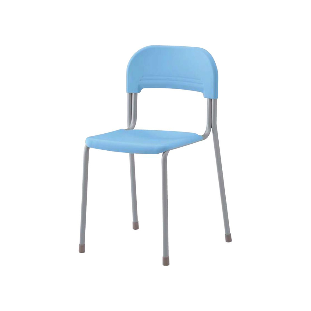 学校椅子 生徒用椅子 固定式 旧JIS2号 背座樹脂 | I-エコール2001-C01N