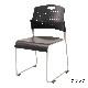 ミーティングチェア スタッキングチェア 会議用椅子 | 【4脚セット】 I-HGS-41PP