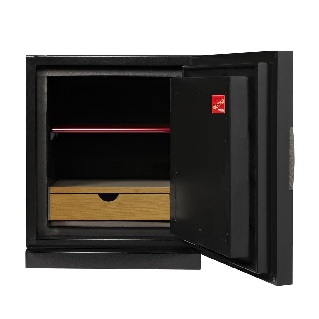 ディプロマット デジタルテンキー式 デザイン金庫 60分耐火 防盗性能 容量52L ブラック 警報音付 | I-DPS5500R3BLACK