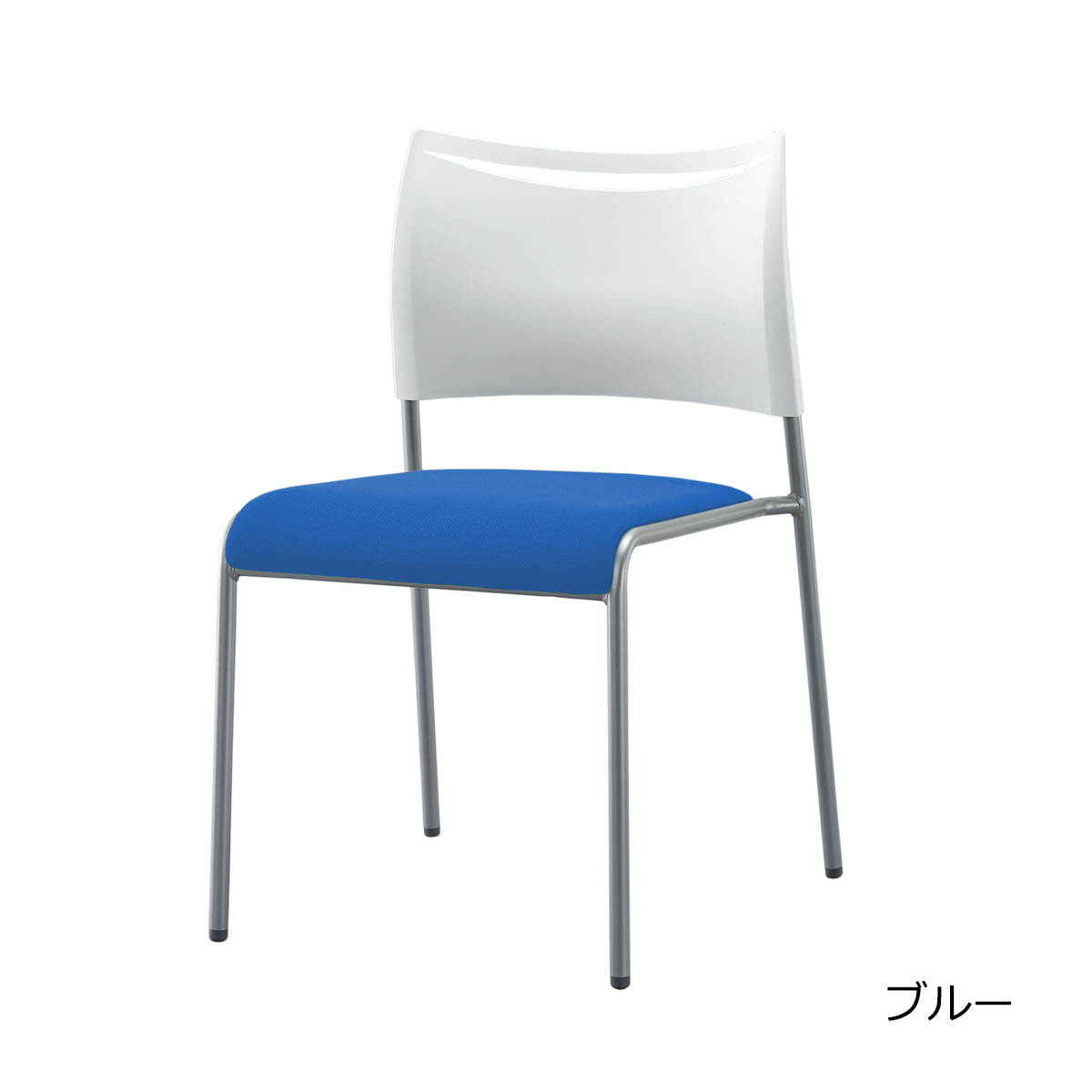 ミーティングチェア スタッキングチェア 会議用椅子 | 【12脚セット】 I-LTS-4F