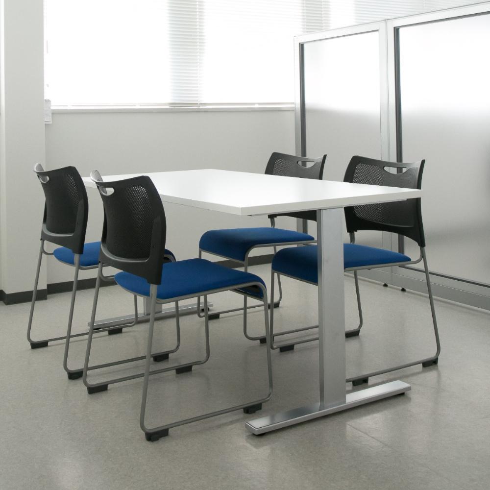 ミーティングチェア スタッキングチェア 会議用椅子 | 【4脚セット】 I-MCX-02DM-F