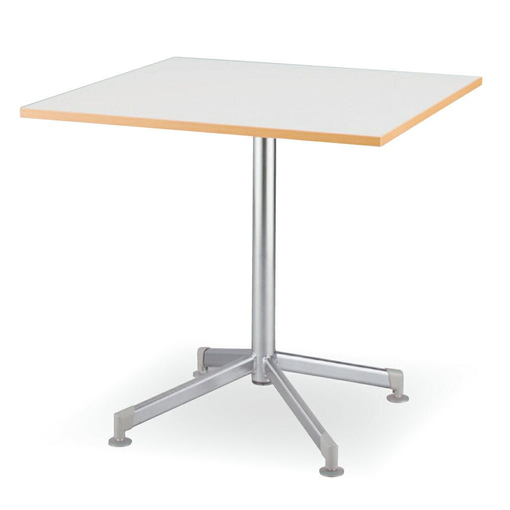 木製テーブル W750 D750 H700 塗装脚 フーク | I-FKTX7575-G