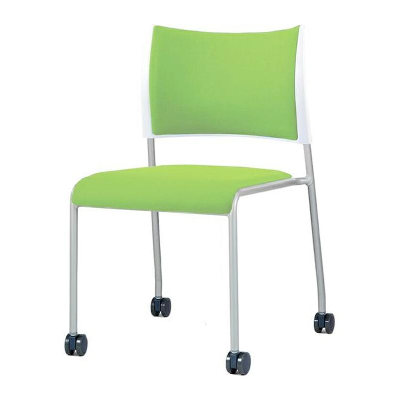 ミーティングチェア スタッキングチェア 会議用椅子   I-LTS-4PC-V