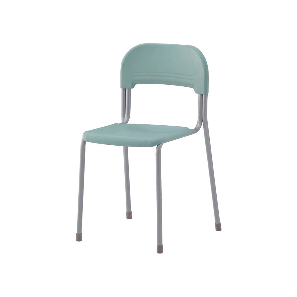 学校椅子 生徒用椅子 固定式 新JIS5号 背座樹脂 | I-エコール2001-C01N