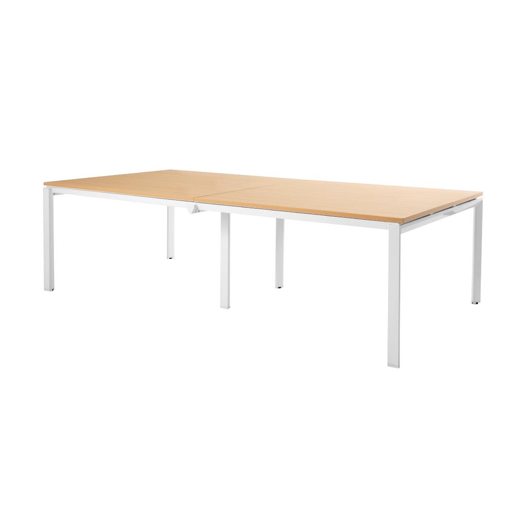 会議用テーブル ミーティングテーブル W2400 D1200 H720 | I-BT-2412