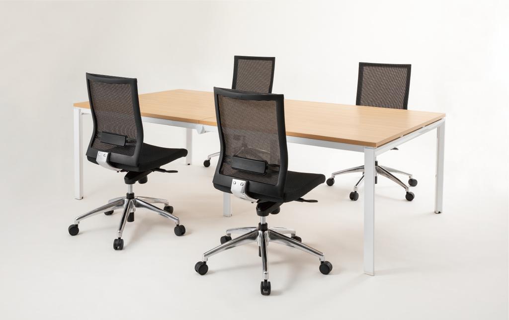会議用テーブル ミーティングテーブル W3600 D1200 H720 | I-BT-3612