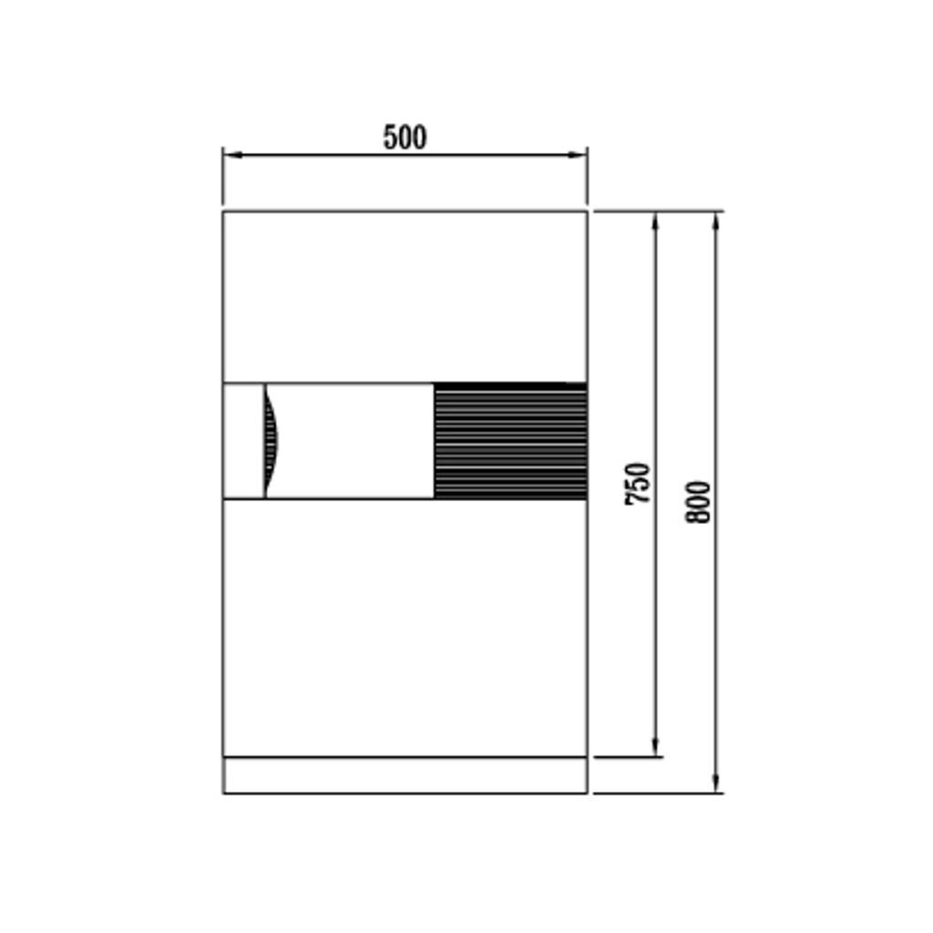 ディプロマット デジタルテンキー式 デザイン金庫 60分耐火 防盗性能 容量76L チェリー 警報音付 | I-DPS7500R3CHERRY
