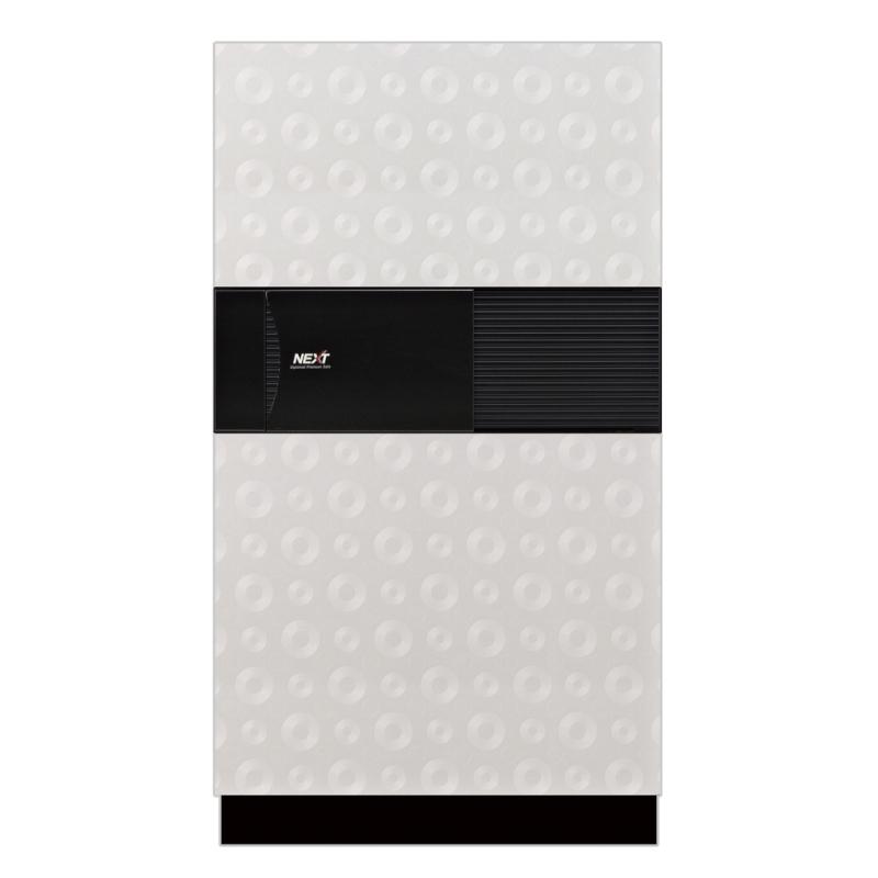 ディプロマット デジタルテンキー式 デザイン金庫 60分耐火 防盗性能 容量76L ホワイト 警報音付 | I-DPS7500R3WHITE