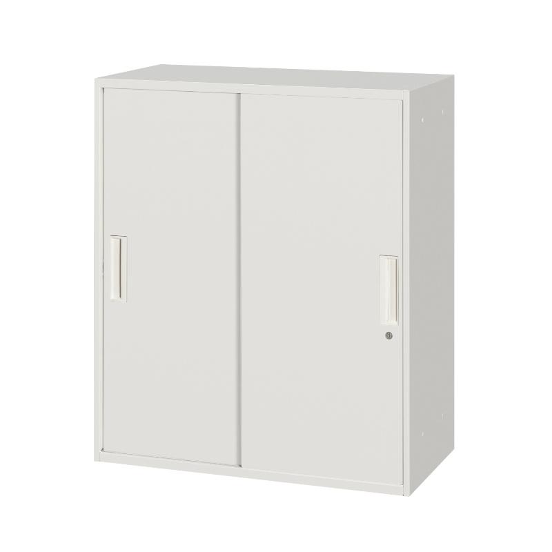 書庫 キャビネット 上下兼用 引き戸型 3段 | I-HSR45/40/35W-10S