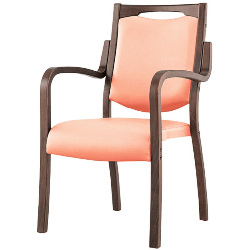 福祉椅子 介護椅子 肘付き ダーク フィーノ | I-フィーノHG2-FD(SBL)