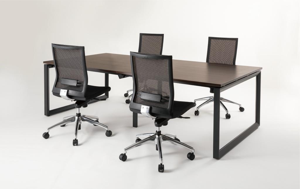 会議用テーブル ミーティングテーブル W3600 D1200 H720 | I-BTR-3612