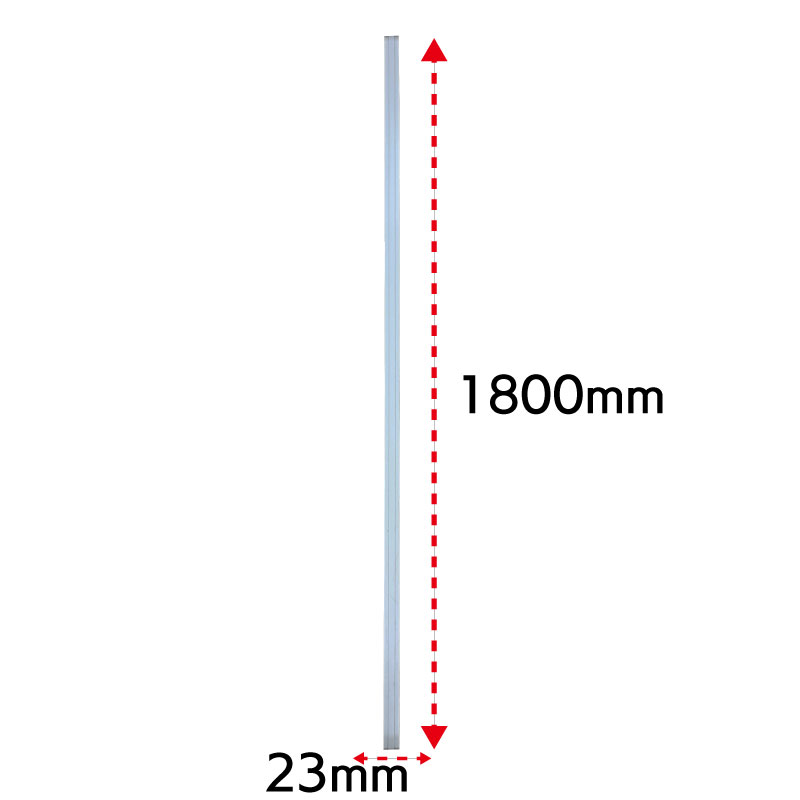 パーテーション 間仕切り パーティション用エンドカバー H1800 | I-ASP-PE1800