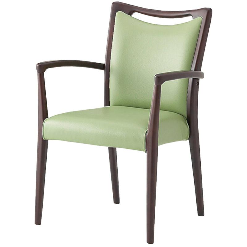 福祉椅子 介護椅子 肘付き ダーク エレン ダークフレーム | I-エレンチェアMD-V