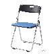 折りたたみ椅子 パイプ椅子 軽量 4.4kg スチール脚 | 【10脚セット】 I-CAL-XS02M-V