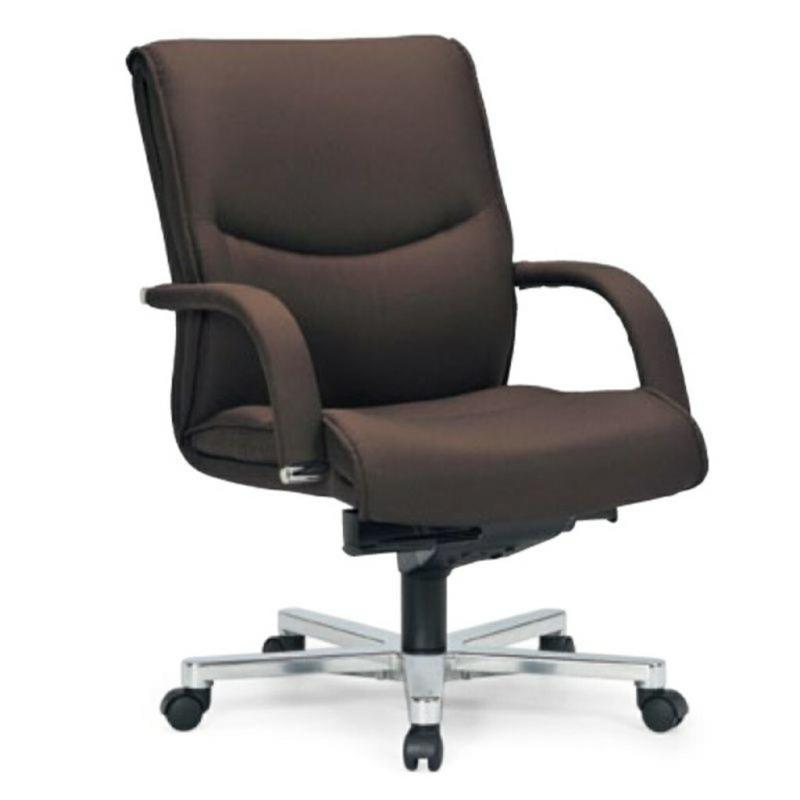 オフィスチェア デスクチェア 事務椅子 肘付き 布張り | I-ICAI-9205-F