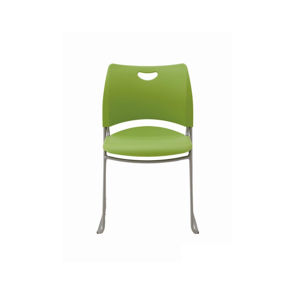 学校椅子 生徒用椅子 固定式 新JIS5.5号 背座樹脂 H  I-X3型   I-HIX-3N