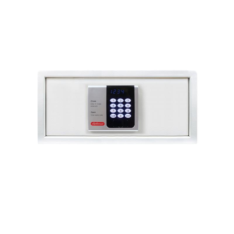 ディプロマット ホテル金庫 容量24L ホワイト 表示4カ国対応 | I-H200C9002