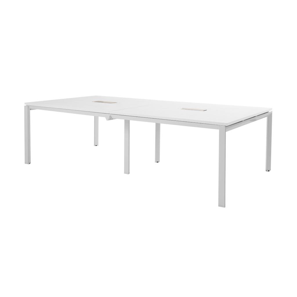 会議用テーブル ミーティングテーブル W3600 D1200 H720 | I-FAD-3612