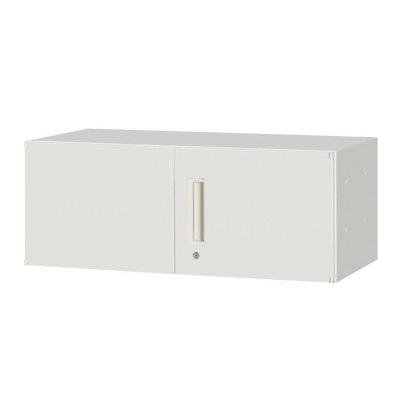 書庫 キャビネット 上置専用 両開き型 1段 | I-HSR45/40/35W-04H