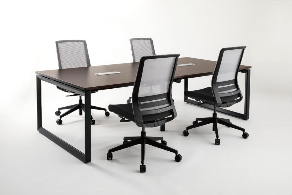 会議用テーブル ミーティングテーブル W2400 D1200 H720 | I-FADR-2412