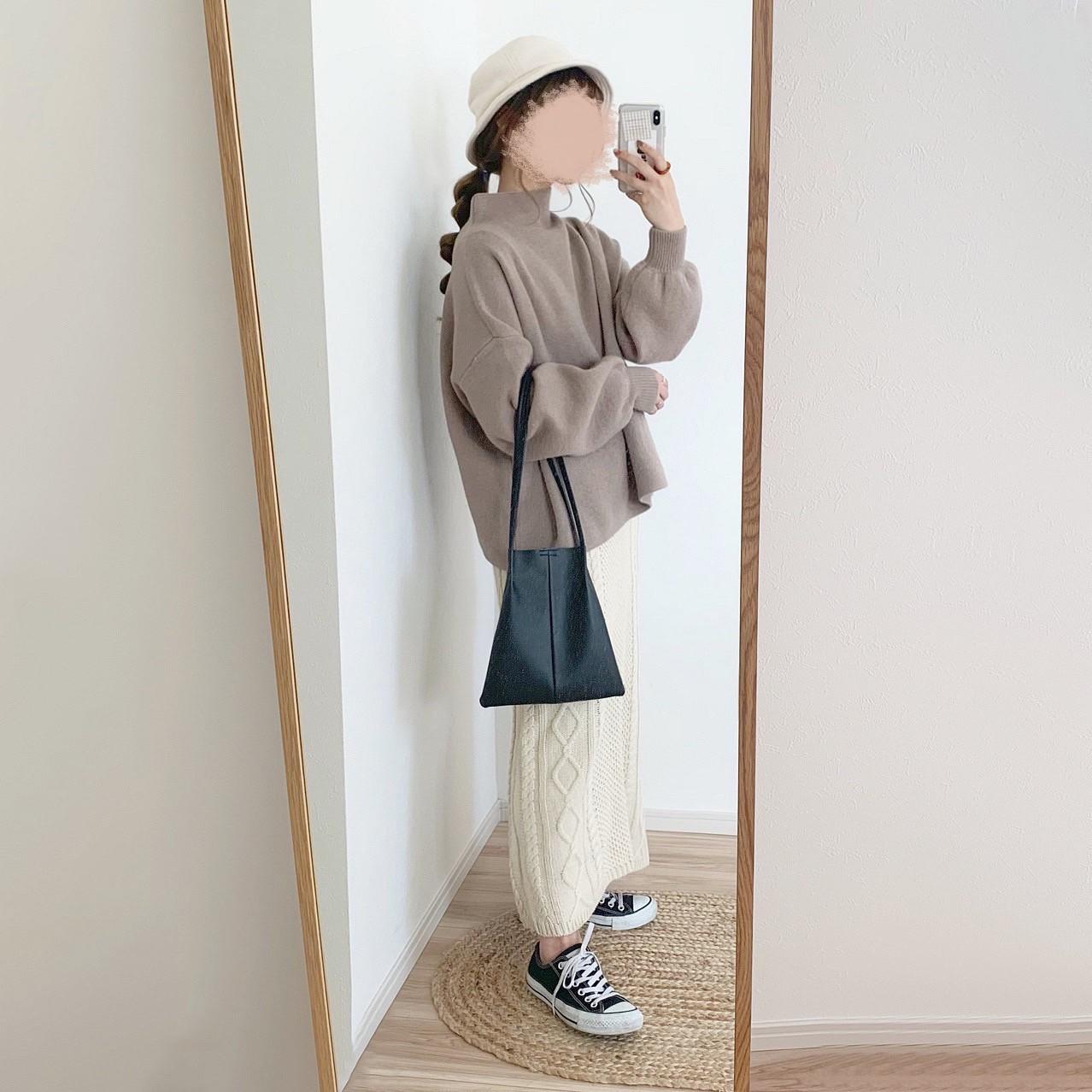 ケーブルタイトスカート