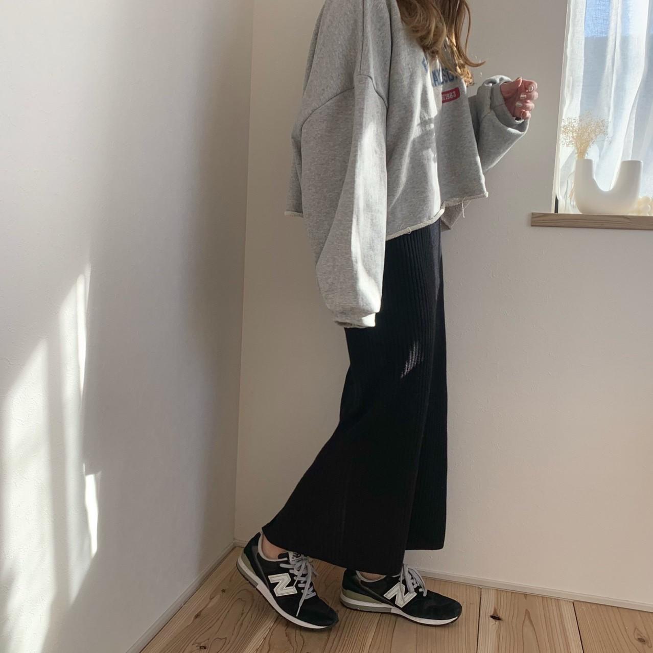 リブタイトスカート