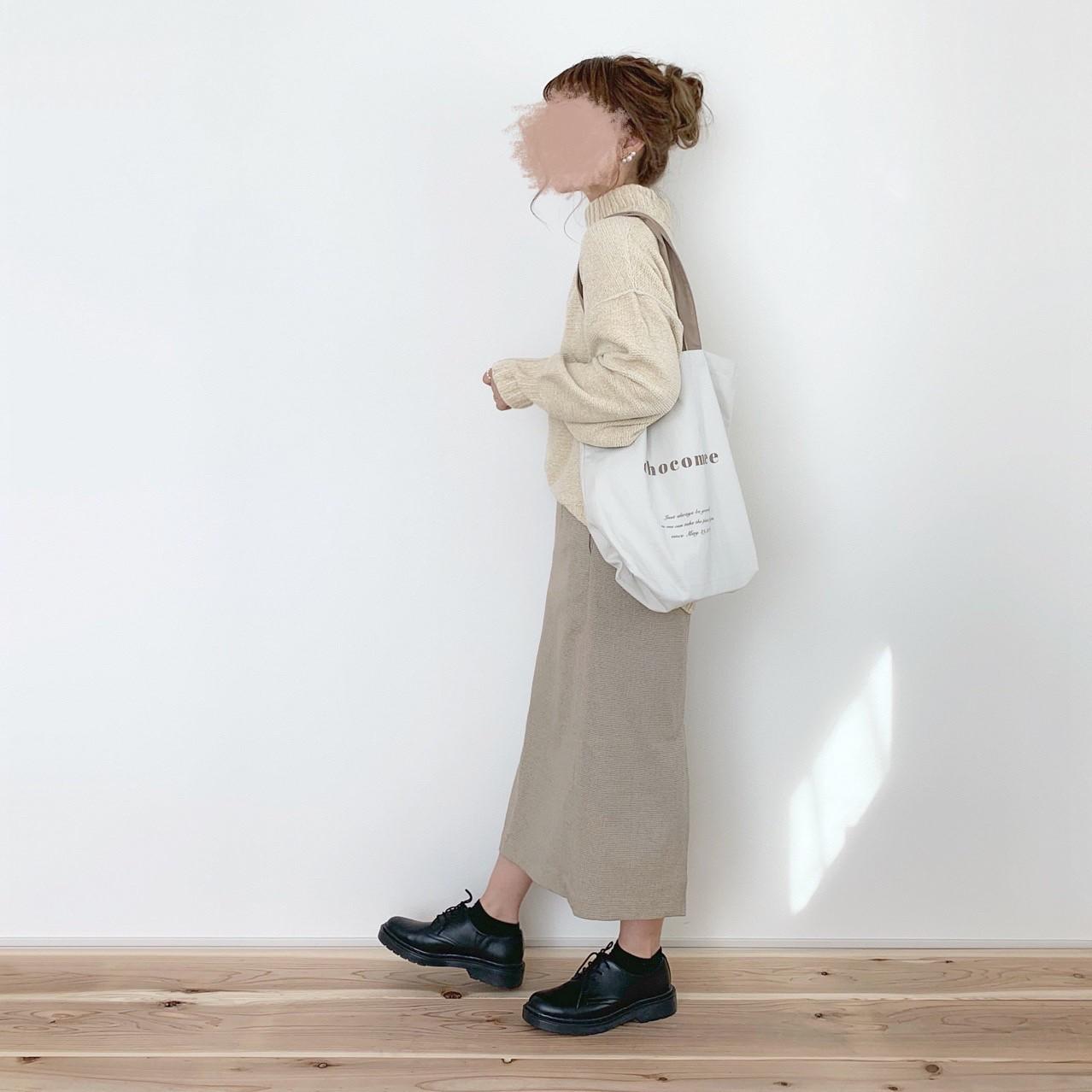 リトルチェックタイトスカート