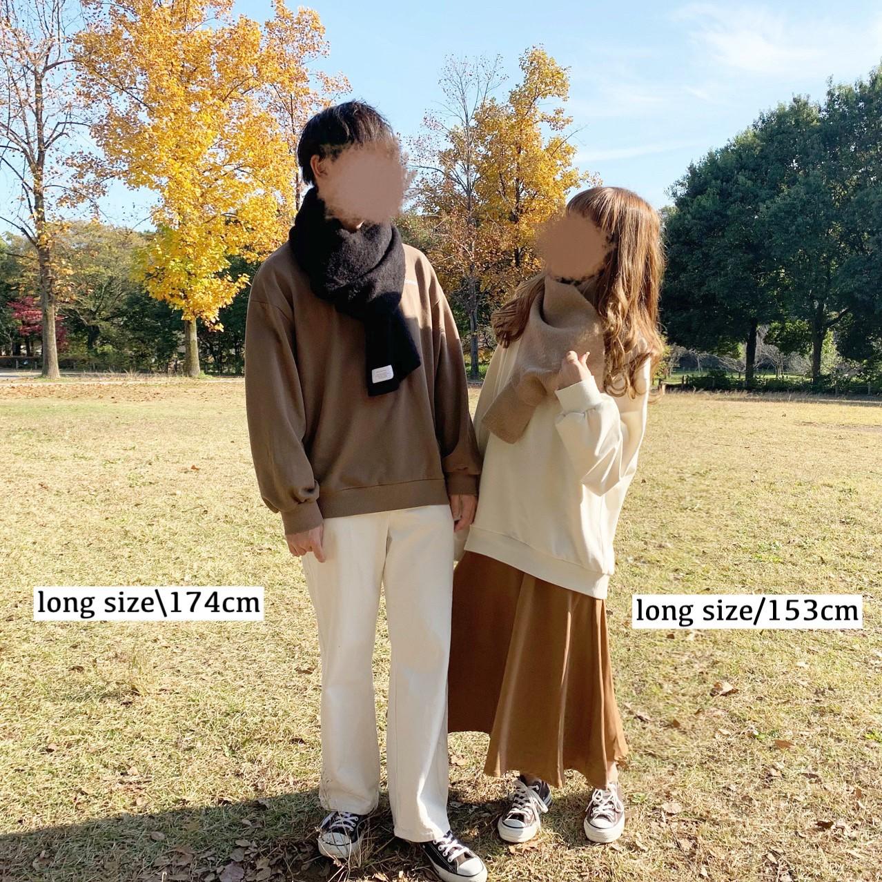 ロゴスウェット/long size