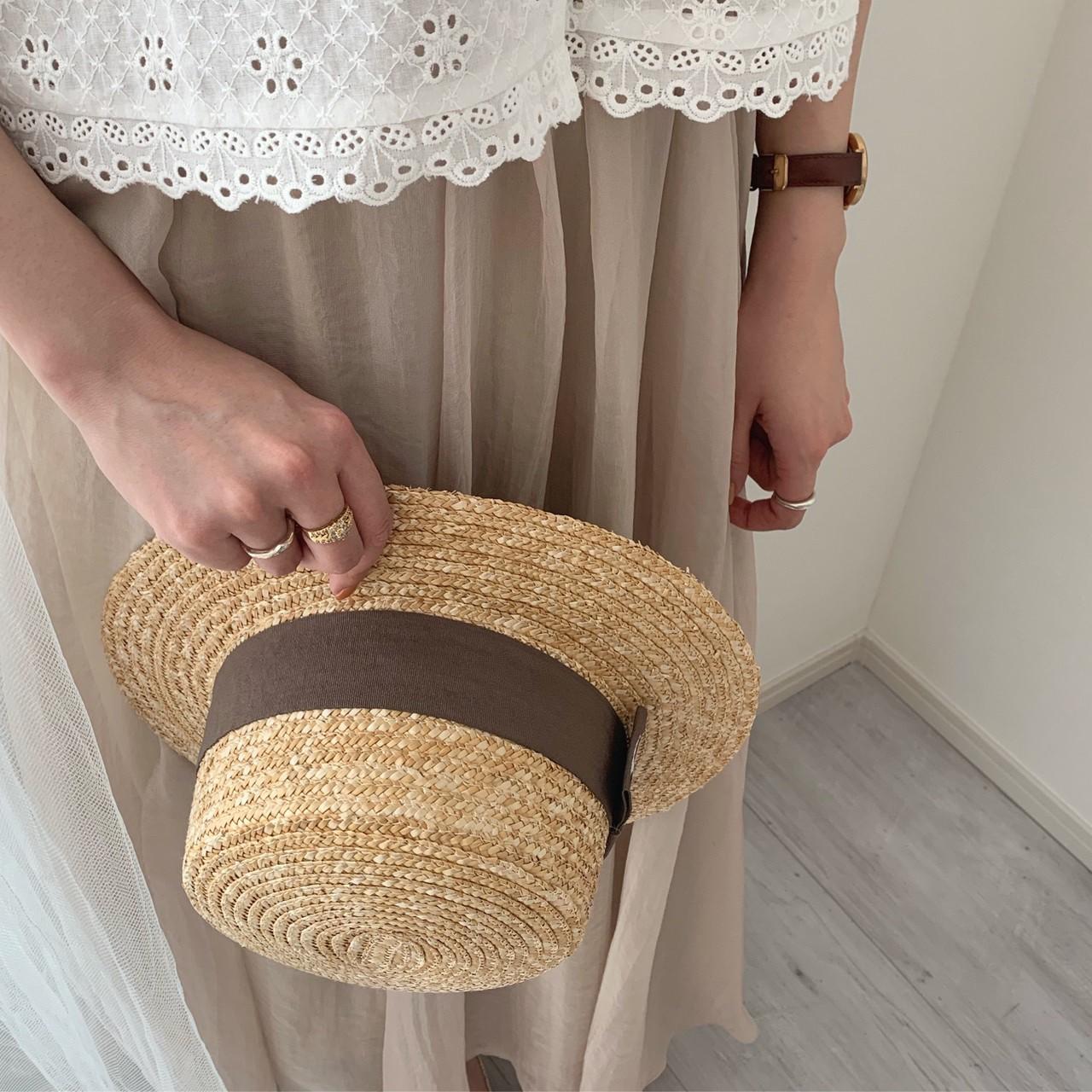 ロゴカンカン帽