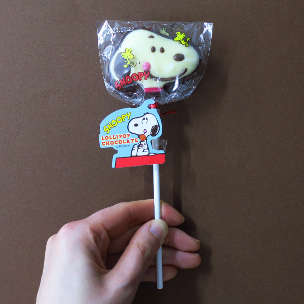 【完売】スヌーピーロリポップチョコレート スヌーピー