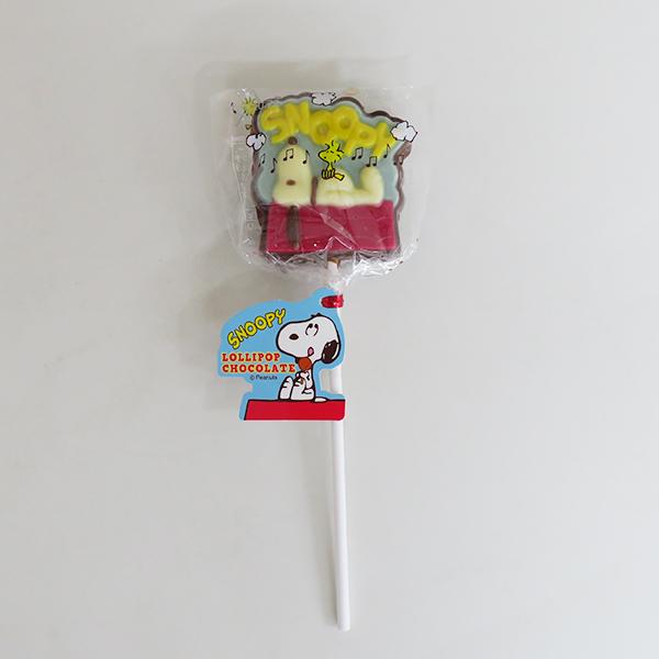 【完売】スヌーピーロリポップチョコレート 屋根