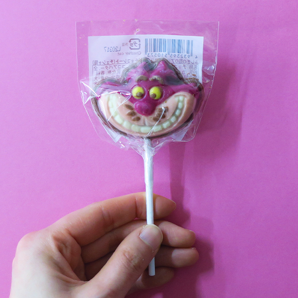 【完売】不思議の国のアリス/ロリポップチョコレート チェシャ猫