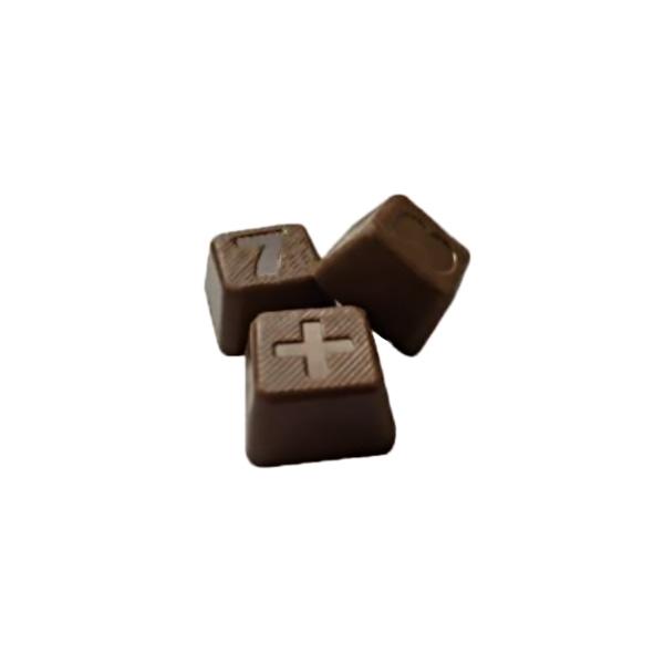 ティーティーなカレ チョコ