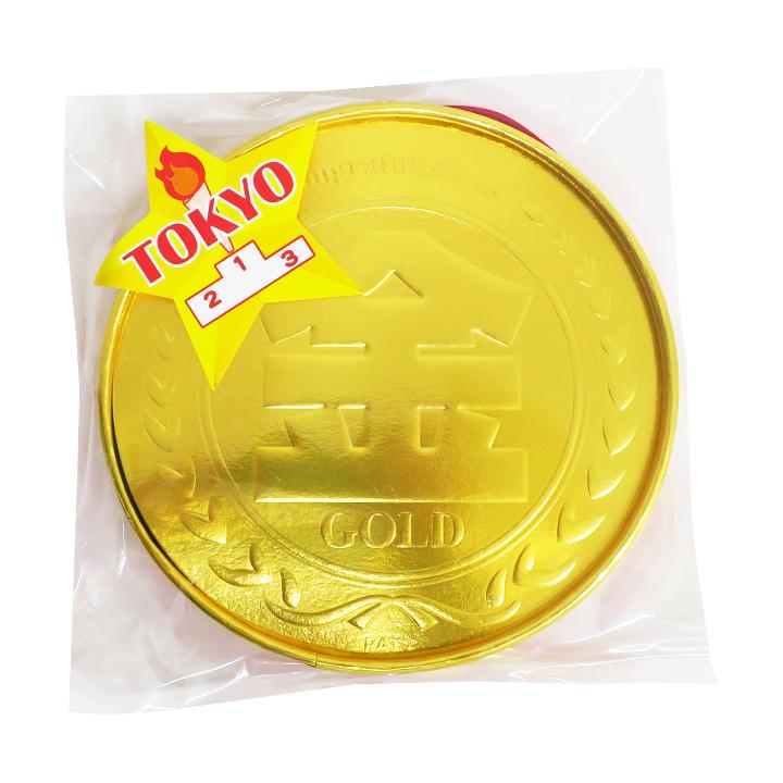 【完売】金メダルチョコ