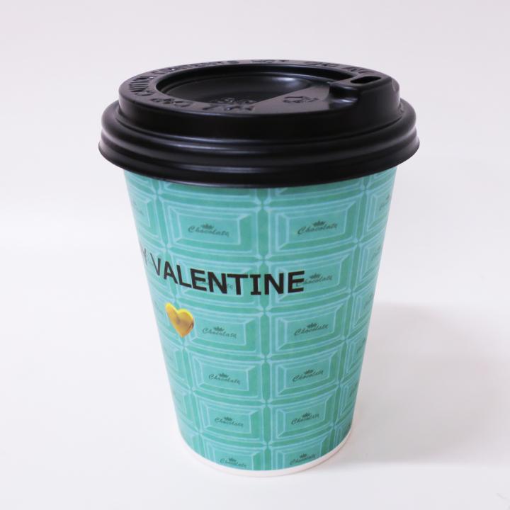 HAPPY VALENTINE カフェチョコ 10個セット(チョコなし)