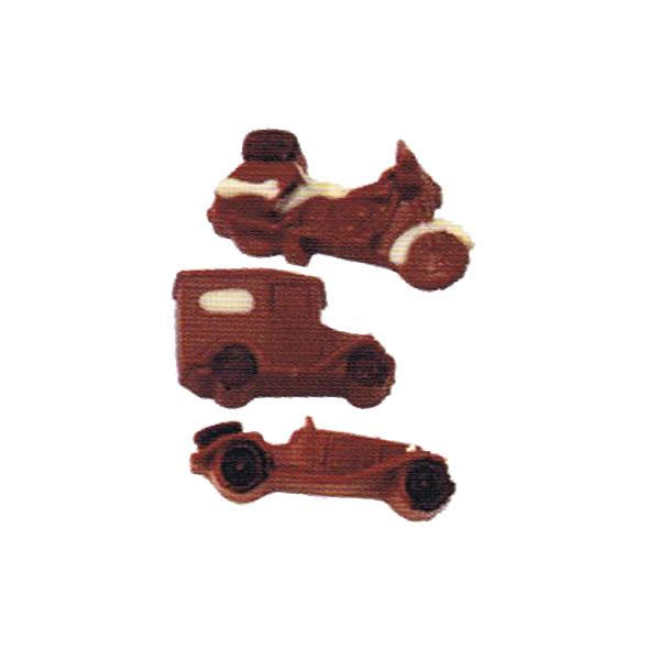 乗り物チョコセット