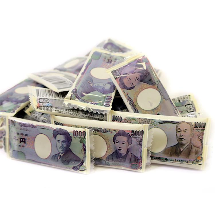 お札チョコ 100個入り お金チョコ  一万円チョコ