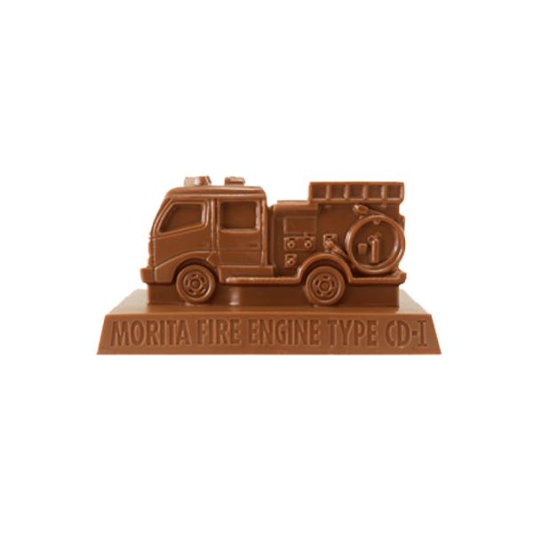 【完売】トミカ緊急車両チョコ モリタCD-�型 ポンプ消防車