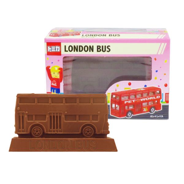 トミカ立体チョコ ロンドンバス