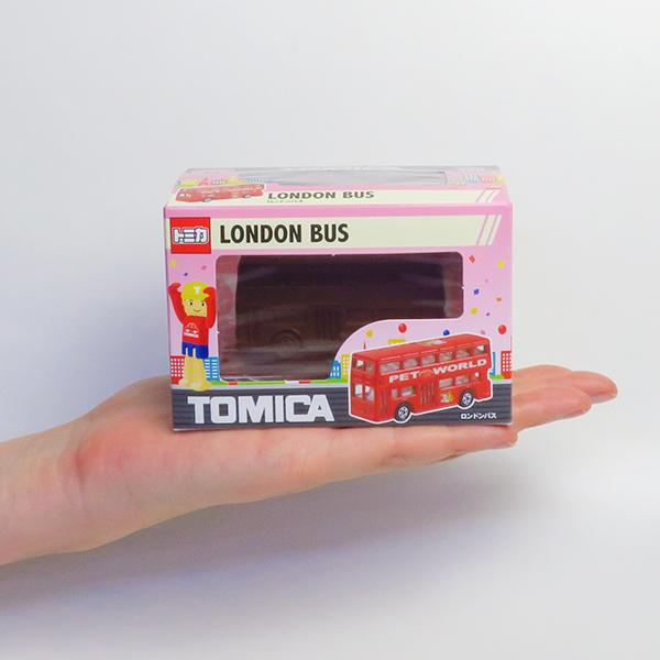 【完売】トミカ立体チョコレート ロンドンバス