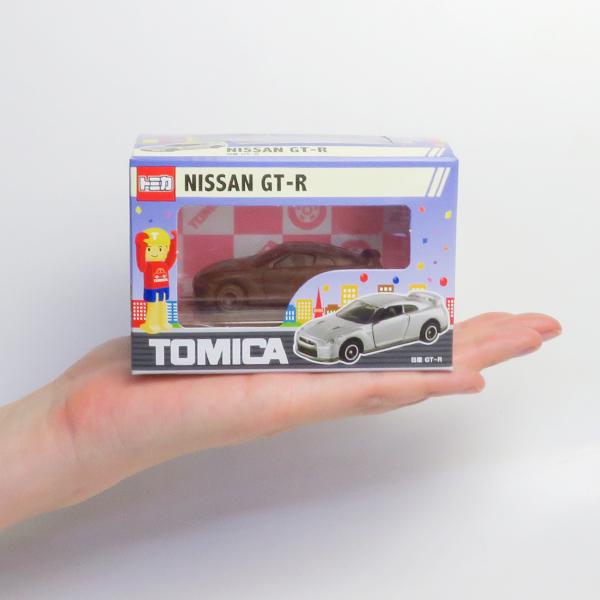 【完売】トミカ立体チョコ 日産GT-R