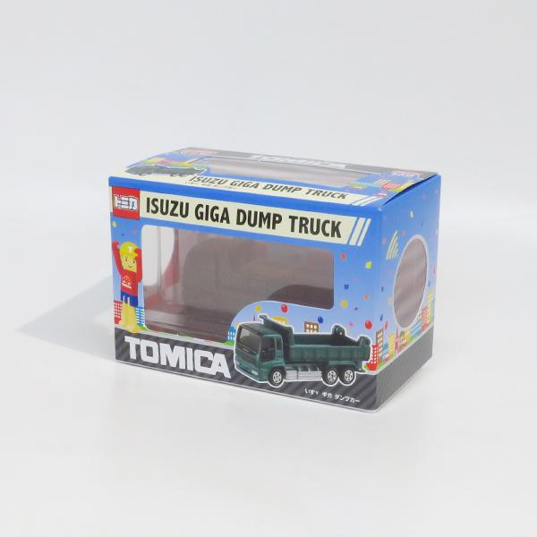 【完売】トミカ立体チョコ いすゞ ギガ ダンプカー