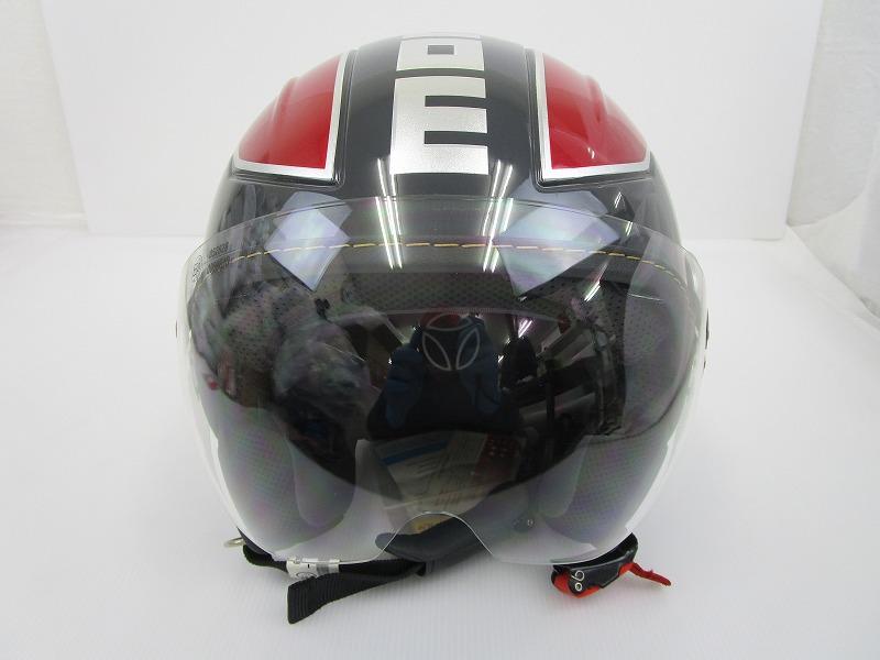 MOMO AVIO PRO ヘルメット Mサイズ[ダークグレイ×レッド]