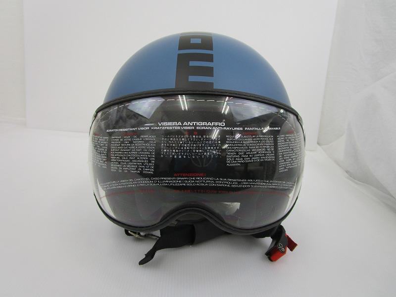 MOMO FGTR EVO ヘルメット Lサイズ[マットブルー]