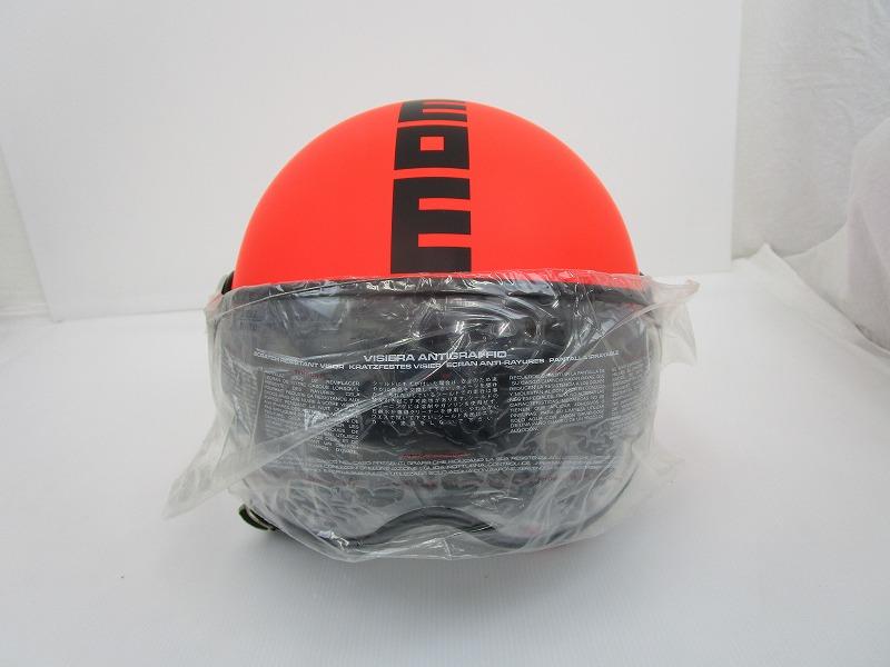 MOMO FGTR FLUO ヘルメット M-Lサイズ[蛍光オレンジ]