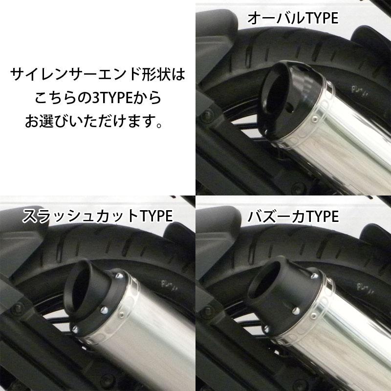 【オーダーメイド可能】BEYOND FZ25/FAZER25用 フルエキマフラー ブラックカーボンサイレンサー【YAMAHA FZ25】【Chopsオリジナル】