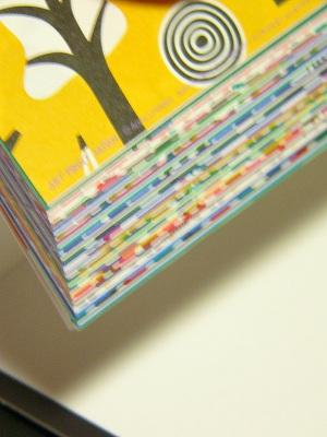 """<2015年>WEEKLY 越前和紙""""おりがみ""""カレンダー/ハイウェイデザイン(週めくり)【HighwayDesign<ヨハンナ・ヘグヴィグ(Johanna Hogvag )>】<54枚つづり全柄別柄!>【壁掛け・卓上とも可!】"""