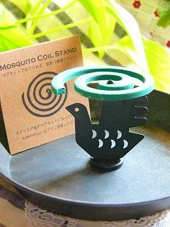 Decole  蚊取り線香 スタンド<BIRD>