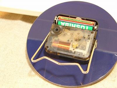 2WAY ガラス製時計 【コローレ】 <テーブル&ウォールクロック>