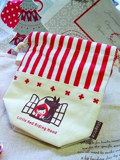 Decole otogicco 赤ずきんちゃん コップ袋